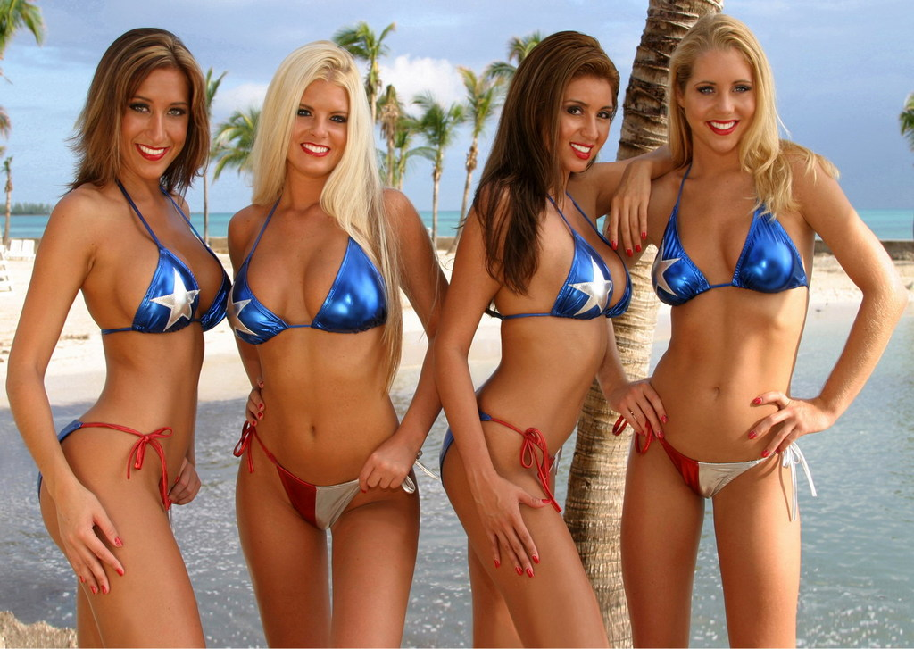 Bikini team texas apologise